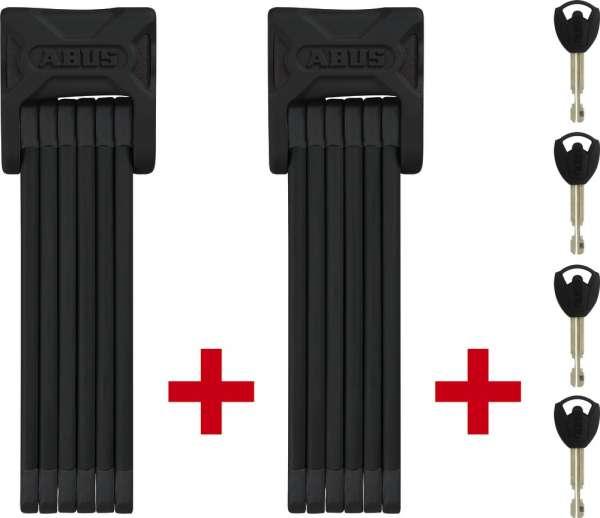 Abus Black Bordo 6000/90 TwinSet Faltschlösser