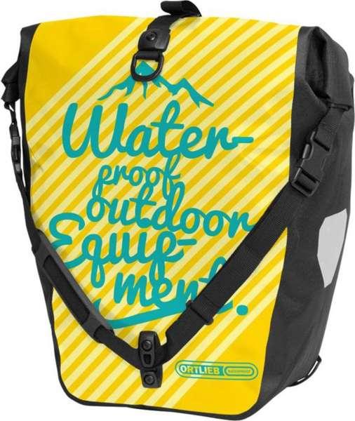 Ortlieb Back-Roller Design Sunny Gepäckträgertasche