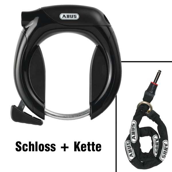 Abus 4960 LH Rahmenschloss + Pro TecticChain 6KS/100 Kette