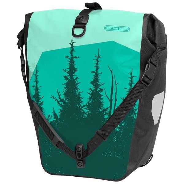 Ortlieb Back-Roller Design Woodland Gepäckträgertasche