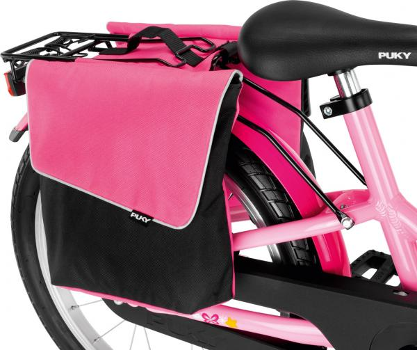 Puky Doppeltasche DT 3 Pink für Fahrräder