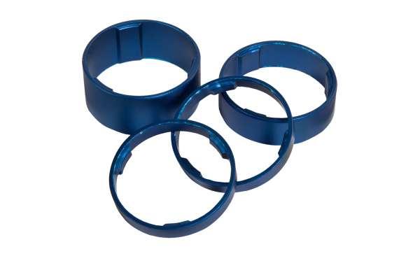 Cube Spacer Set blau