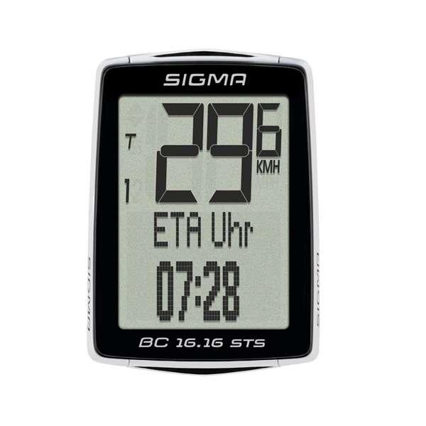 Sigma BC 16.16 STS CAD Fahrradtacho