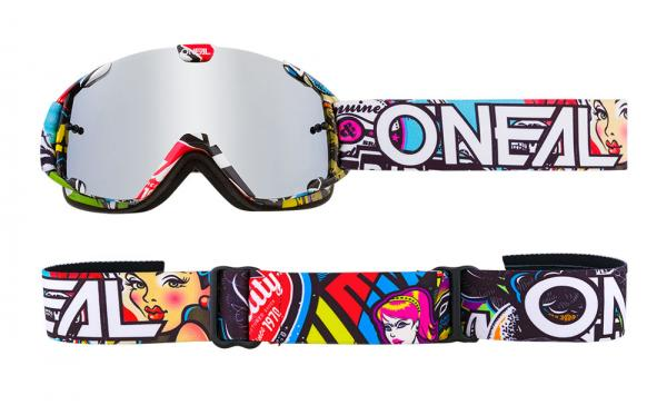 Oneal B-30 Youth crank multi Goggle