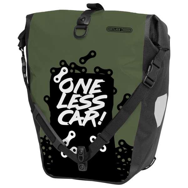 Ortlieb Back-Roller Design One less car Gepäckträgertasche