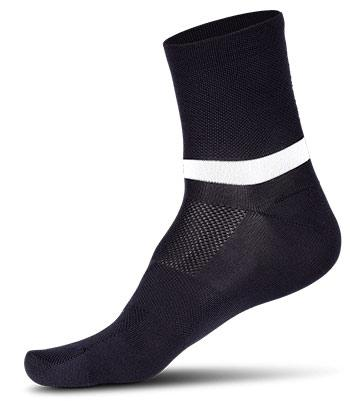 Cube Race Cut Blackline Socke