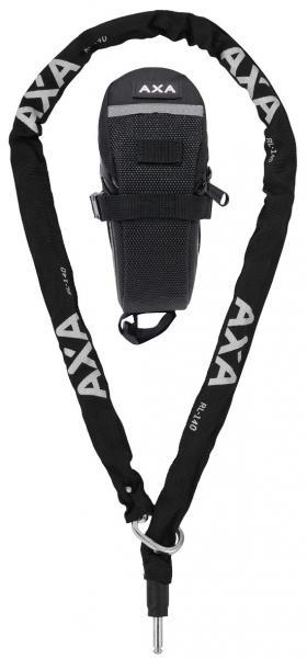 Axa RLC 140/5,5 Einsteckkette + Tasche