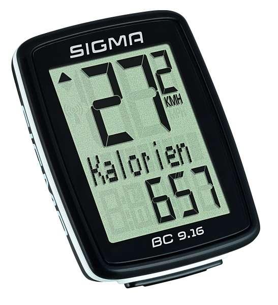Sigma BC 9.16 Fahrradtacho