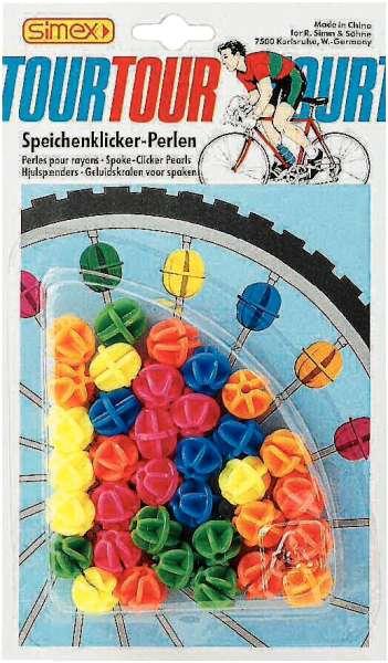 SMG Speichen-Klicker-Perlen