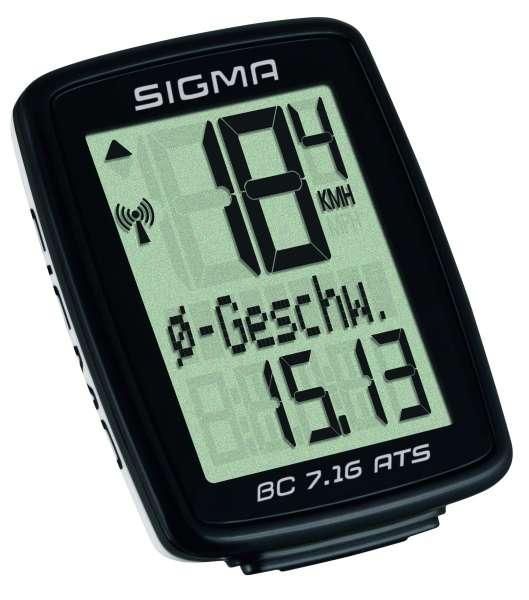 Sigma BC 7.16 ATS Fahrradtacho