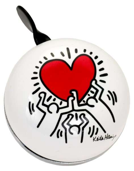 Liix Ding Dong Keith Haring Heart Klingel