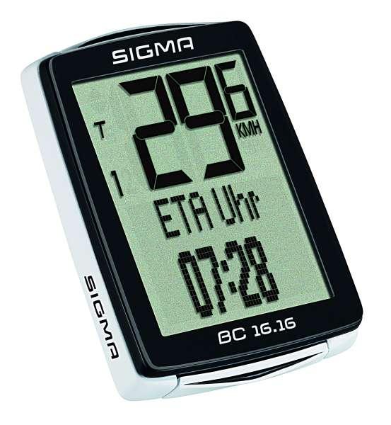 Sigma BC 16.16 Fahrradtacho