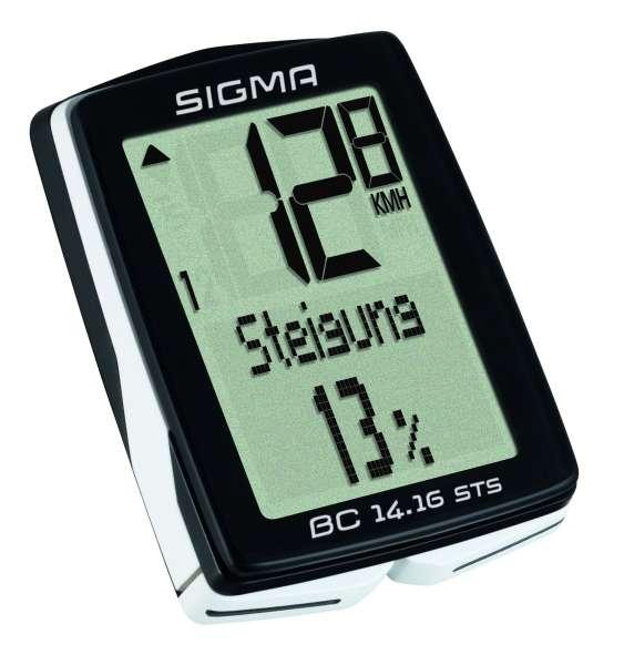 Sigma BC 14.16 STS CAD Fahrradtacho
