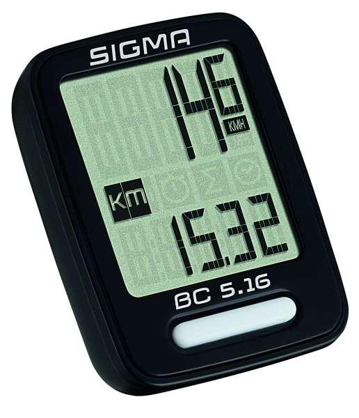 Sigma BC 5.16 Fahrradtacho