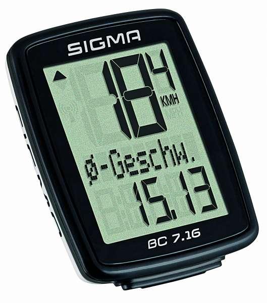 Sigma BC 7.16 Fahrradtacho